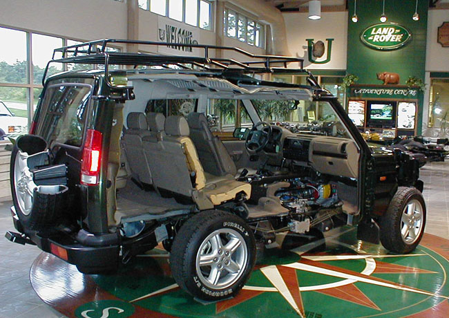 Discovery 1 Land Rover >> disco2 cut away